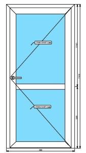 Алюминиевые двери в Саранске