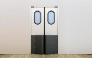 Маятниковые двери в Саранске