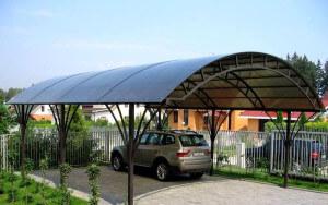 Навесы из сотового поликарбоната в Саранске