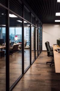 Интерьерные офисные перегородки