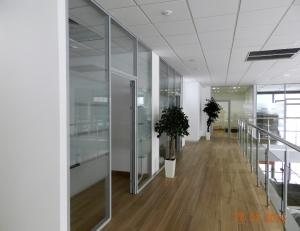 Офисные перегородки из интерьерного профиля