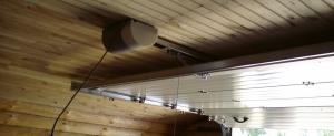 Электропривод для гаражных ворот NICE (Италия)