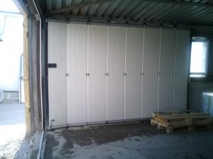 Сдвижные секционные ворота Hormann