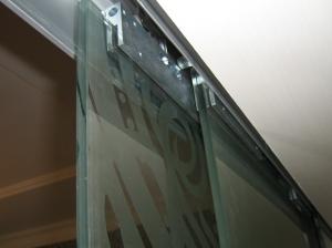 Стеклянная раздвижная дверь MAME (Германия)